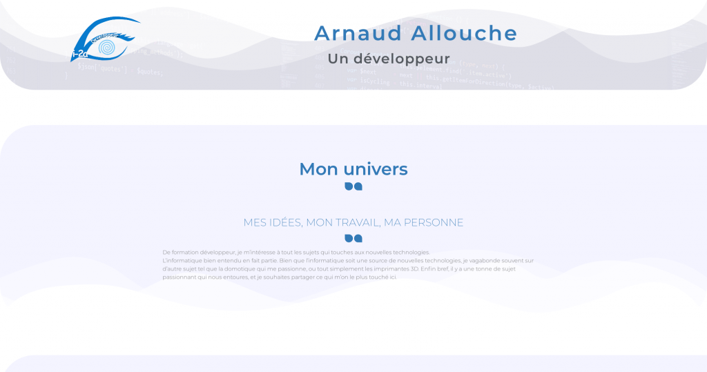 Site Arnaud Allouche